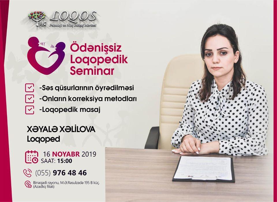 Loqopediya nədir? seminar