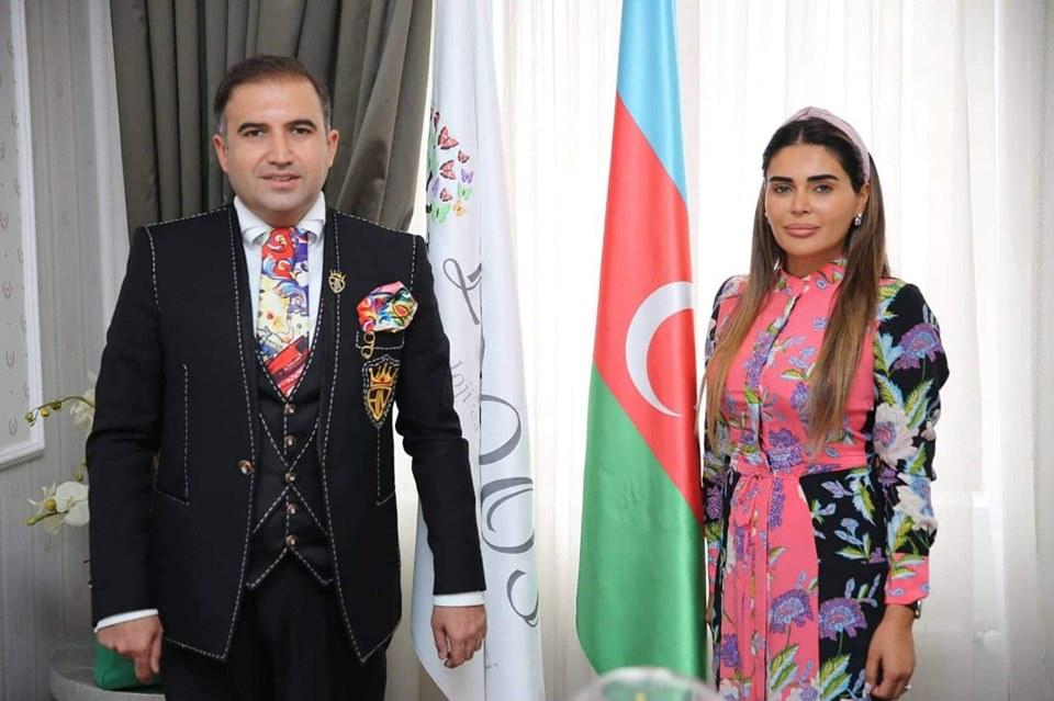 """Azərbaycan Televiziyasının tanınmış aparıcısı, xeyriyyəçi Hacı Nuran """"Loqos"""" Psixoloji və Nitq İnkişaf Mərkəzinin qonağı oldu."""