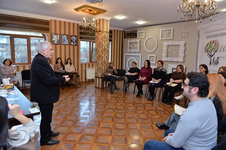 Fevral ayı üçün nəzərdə tutulmuş Klinik Psixologiya təhsil proqramını professor İqor Valeryeviç Dobrakov keçdi.