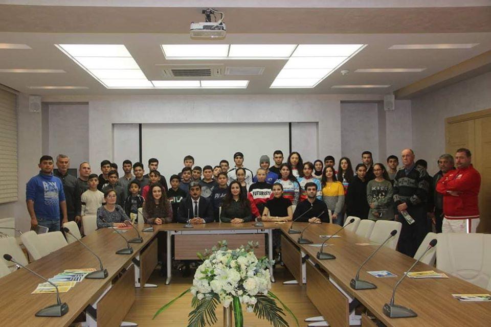 Məşqçi-müəllimlər və idmançılar üçün yarış öncəsi psixoloji hazırlıq mövzusunda seminar keçirildi.