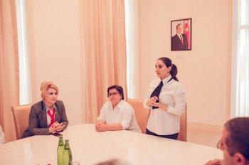 """Göygöl rayonunda  """"Yeniyetmə və məktəb mühiti"""" mövzulu seminar keçirildi."""