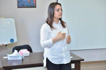 Mərkəzin  defektoloq-loqopedi Xəyalə Xəlilova tərəfindən ödənişsiz loqopedik seminar keçirildi.