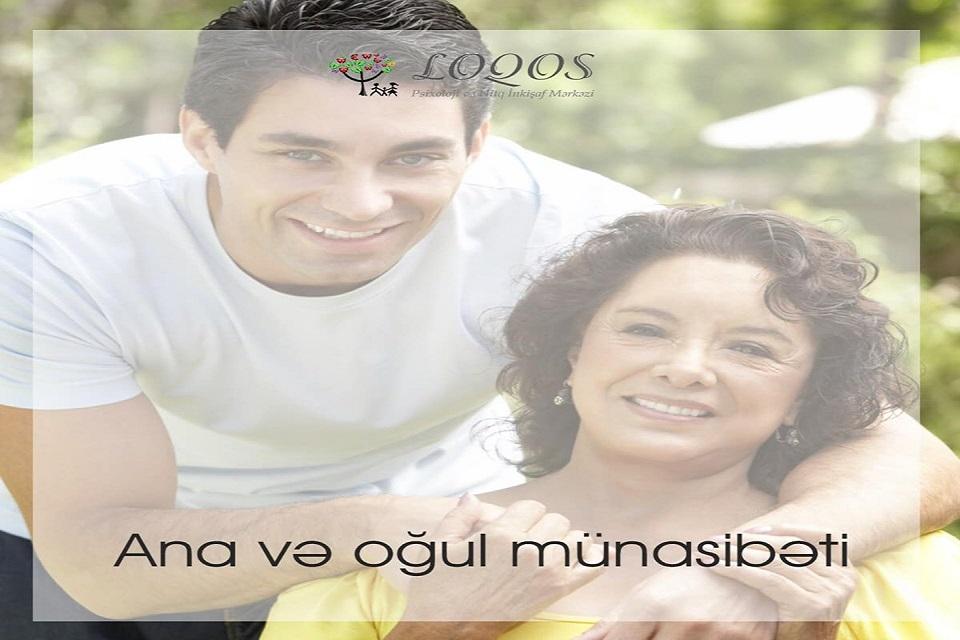 Ana və oğul münasibəti.
