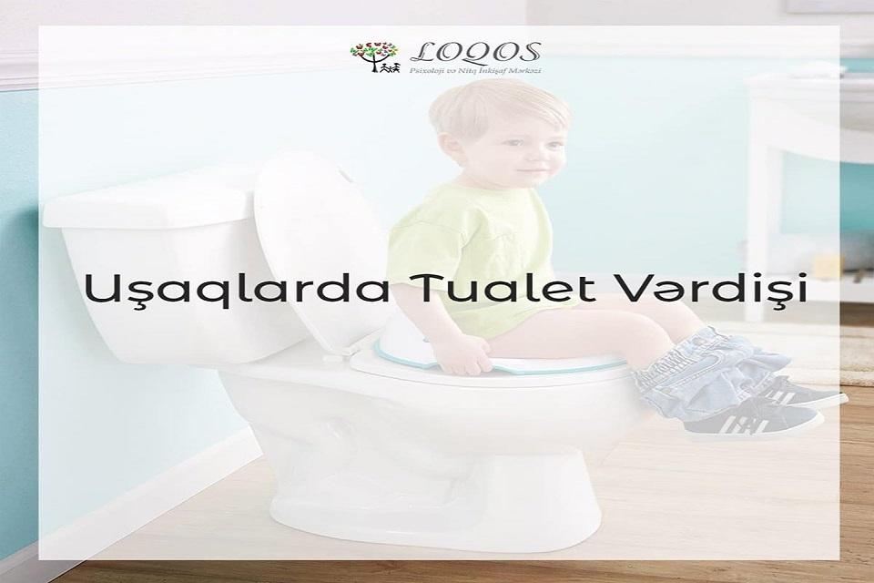 Uşaqlarda tualet vərdişi.