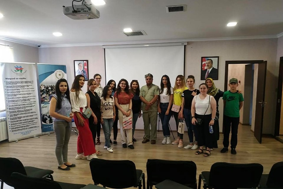 """Dr.Cəfər Zahir Çağatayın """"Həyatın böyük sualları"""" mövzulu seminarı baş tutdu."""