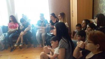 5 iyulda Mərkəzin Gəncə filialında ödənişsiz seminar və müayinələr keçirildi.