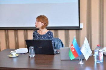 Klinik Psixologiya təhsil proqramının may ayı üçün nəzərdə tutulmuş dərslərini həkim-psixoterapevt Remeslo Marina Borisovna keçdi.