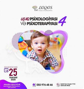 """""""Loqos"""" un klinik psixoloqu tərəfindən keçiriləcək  """"Uşaq psixologiyası və psixoterapiyası-4"""" kursunu əldən qaçırmayın!"""