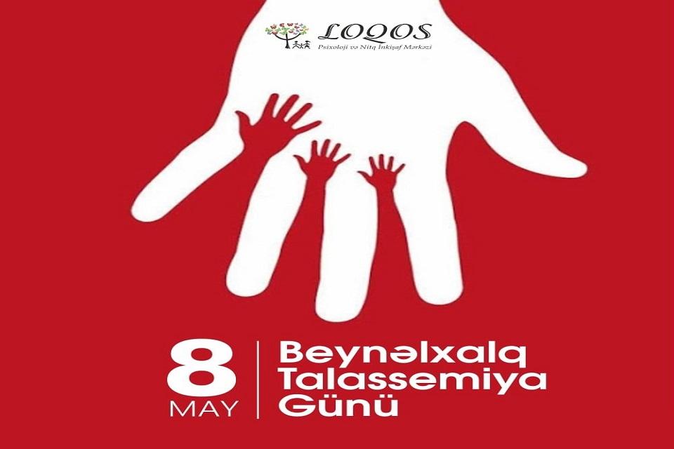 8 may-Beynəlxalq Talassemiya Günüdür.