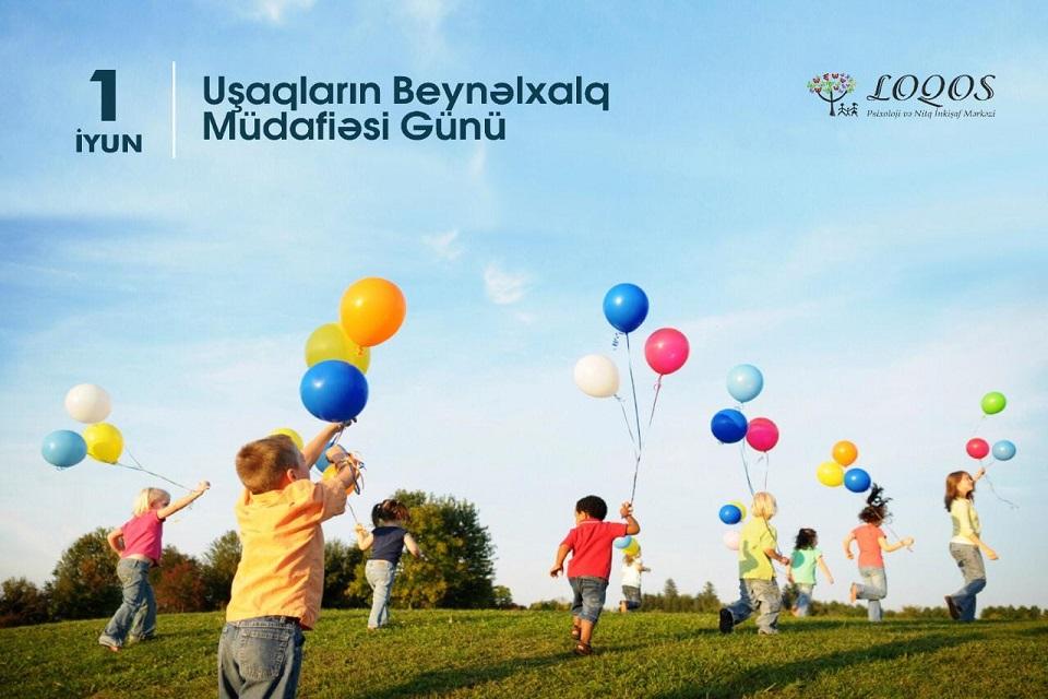 1 iyun - Uşaqların Beynəlxalq Müdafiəsi Günü.