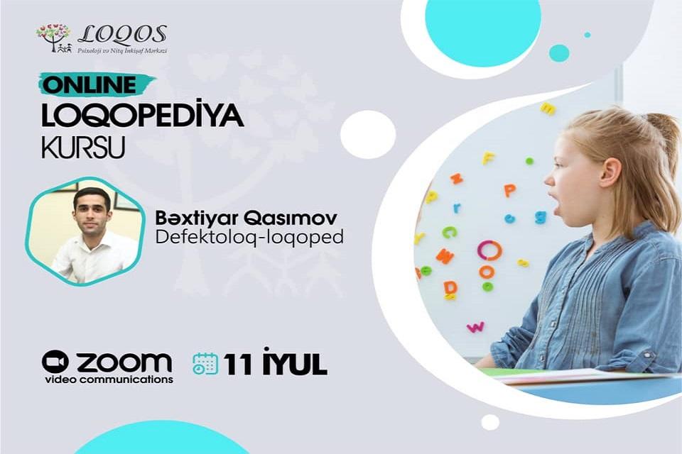Online Loqopediya Kursuna Start Veririk!