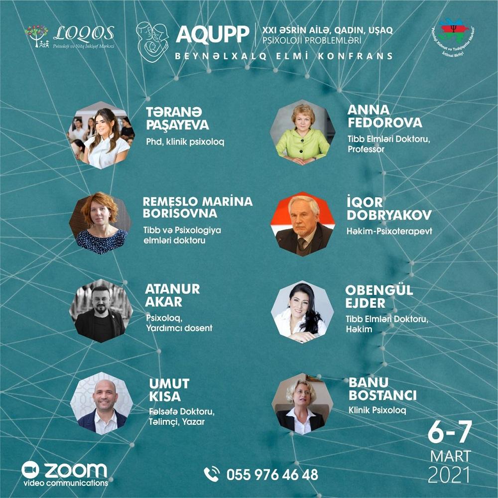 AQUPP - Beynəlxalq Psixoloji Konfrans