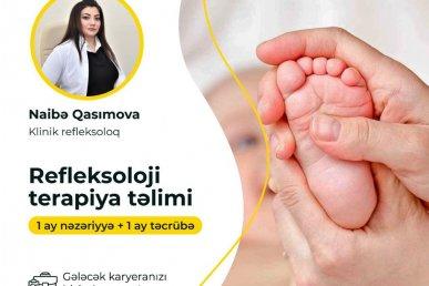 Refleksoloji terapiya təliminə start veririk!